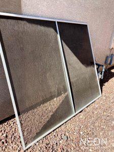 Worn & Faded Solar Screen